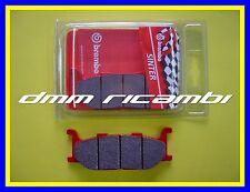 Pastiglie freno anteriori BREMBO SA YAMAHA T-MAX 500 01>02 rosse TMAX 2001 2002