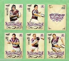 2008  MANLY SEA EAGLES  SELECT NRL CENTENARY  RUGBY LEAGUE TEAM CARDS