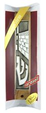 OLIVE WOOD JERUSALEM MEZUZAH WITH SHEMA YISRAEL SCROLL - Made in Israel