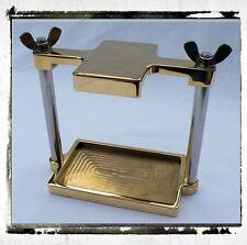 Batteriebox Casted Brass, Messing pol. , RUNAWAYCHOPPERS, für Harley - Davidson