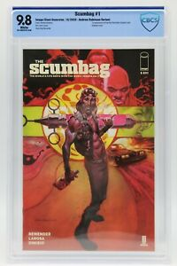 Scumbag (2020) #1 Andrew Robinson Variant Cover CBCS 9.8 Blue Label White Pages
