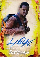 The Walking Dead Survival Box Autograph Card Lawrence Gilliard Jr As Bob 08/99