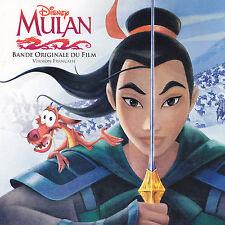 MULAN  ( Disney ) - CD - BANDE ORIGINALE DU FILM