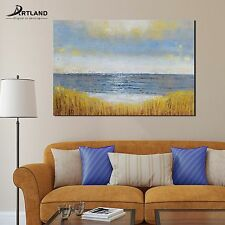 Original Framed Oil Painting Hand-painted Canvas Wall Art 'Sunrise on the Beach'