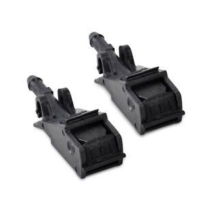 2 PCS Windshield Washer Spray Nozzle Fit for Jetta Glof MK4 Passat Touareg