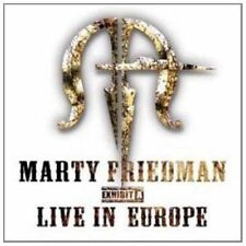 Exhibit a Live in Europe Marty Friedman CD 8712725724124