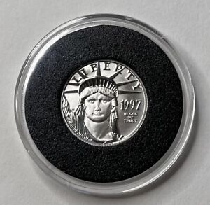 1997 $25 US Mint Platinum Eagle -1/4 Oz. .999 Platinum - Brilliant Uncirculated!