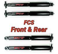 Front & Rear Shocks for 1997-2006 Jeep Wrangler TJ FCS