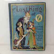 The Lost King of Oz First Edition Ruth Plumly Thompson 1st Printing 1925 Book
