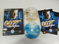 007 Nightfire James Bond Set PC 2X Cd-Rom Spanisch EA Spiele Pierce Brosnan Am