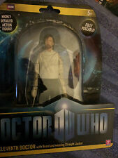 Dr who  series six 11th  doctor with  beard in straight jacket figure set ,