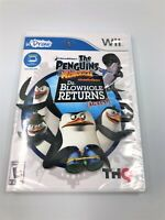 WII UDRAW THE PENGUINS OF MADAGASCAR DR BLOWHOLE RETURNS AGAIN NEW!
