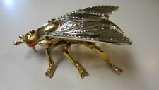 Cast Metal Horse Fly / Fly Hinged Ashtray / Match Holder (MD)