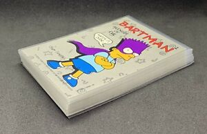 The Simpsons ~ Complete Sticker Set (1-22) ~ Topps ~ 1990 ~ Combined S&H