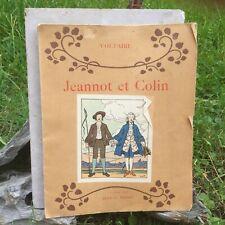 Jeannot et Colin d' Après VOLTAIRE, illustré par René-X PRINET