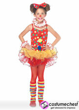 7-10 years Circus Clown Girls Dress by Leg Avenue