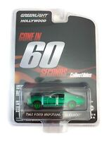 GREENLIGHT 1:64 GONE IN 60 SECONDS 1967 FORD MUSTANG ELEANOR MODEL 44742 CHASE