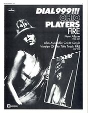 BS152P07 OHIO PLAYERS : FIRE ALBUM ADVERT 11X8""