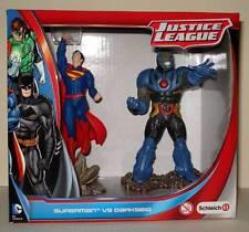 "DC Comics JUSTICE LEAGUE  SUPERMAN Vs DARKSEID 5"" PVC Figure Set  Mint in Box"