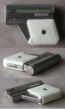 OLD AUSTRIAN PETROL CIGARETTE LIGHTER IMCO 6900 GUNLITE PISTOL WHITE FUNCTIONAL