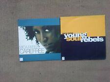 "MICA PARIS CAREFREE/YOUNG SOUL REBELS & IF I LOVE U 2 NITE 12""VINYL & CD RELEASE"