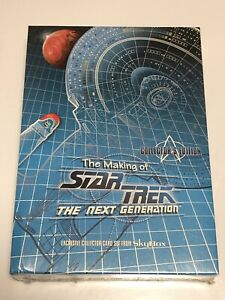 The Making of Star Trek TNG Sealed Collector Card Set Skybox Collector's Edition