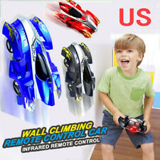 New Remote Control Wall Climbing Car Gravity Defying RC Anti Ceiling Racing Toy