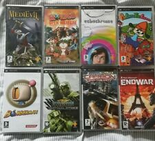 Psp Game Bundle x8 Bomberman, Medievil, ParappaTheRapper