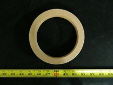 MDF SPEAKER RING SPACER 5.25 INCH WOOD 3/4 THICK FIBERGLASS BOX ENCLOSURE PORT