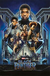 "Black Panther - Marvel Movie Poster / Print (Regular Style) (Size: 24"" X 36"")"