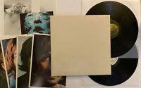The Beatles - White Album - 197? UK Press PCS 7088 Poster & Photos (VG+)