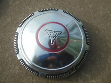 1 Mopar Dodge Red Circle Stripe Dog Dish Cap Hubcap Center Poverty Hemi Plymouth