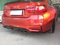 Carbon Diffusor für BMW M3 F80 Heck Ansatz Schürze Heckschürze Flaps GTS DTM Neu