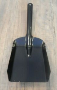 Metal coal shovel in 2 sizes 5 & 4 inch Fireside Hearth Black UK SELLER