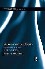 Modernism And Latin America  BOOKH NEW