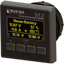 BLUE SEA SYSTEMS M2 OLED DC State-of-Charge (SoC) Monitor (PN 1830) MSRP $299.99
