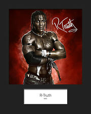 R-TRUTH #1 (WWE) Signed 10x8 Mounted Photo Print - FREE DELIVERY