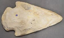 Large Sandstone Ceremonial Point Arrowhead Reproduction 15 1/4 inches Long