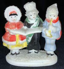 Vintage Bisque Snow Baby - Children Carolers