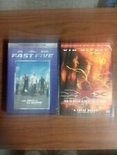 Lot Of 2 Vin Diesel Dvds Fast Five and Xxx