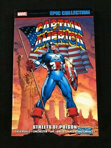 Captain America Streets of Poison Epic Collection Graphic Novel Softcover