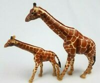 LOT OF 2 - Giraffes Mother and Baby SCHLEICH GERMANY ANIMALS Figures Toys