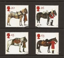 1997 GB, All The Queen's Horses , Fine Used Set of Stamps, SG 1989-92
