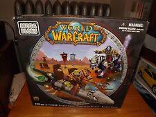 MEGA BLOKS, WORLD OF WARCRAFT, BARRENS CHASE, KIT #91025, NIB, 2012
