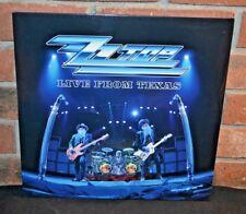 ZZ TOP - Live From Texas, Import 2LP BLACK VINYL Gatefold New & Sealed!