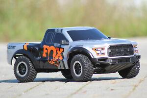 Traxxas 58094-1 Fox Ford Raptor F-150 Rtr 1:10 2.4GHz With Akku & Loader 2WD New