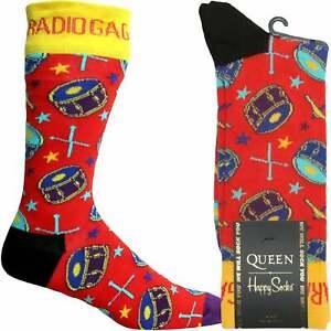 Happy Socks Queen Radio Ga Ga Sock, Red