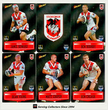 2012 Select NRL Champions Triple Centurion Mirror Card Tc7 Brad Fittler-roosters