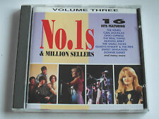 Various Artists -No 1`s & Million Sellers / Vol 3 (CD Album 1993) Used Very Good