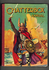 CHATTERBOX ANNUAL 1950s edition Viking cover